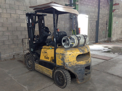 monta carga 2.5 yale e2120 combustible dual 2001