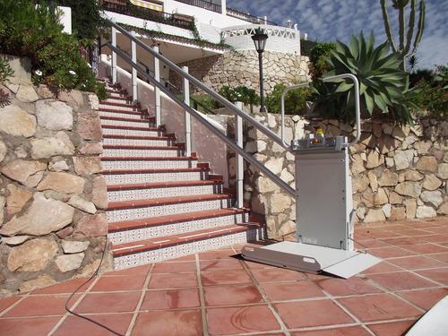 monta escalera eléctrico, sube escaleras, silla salvaescaler