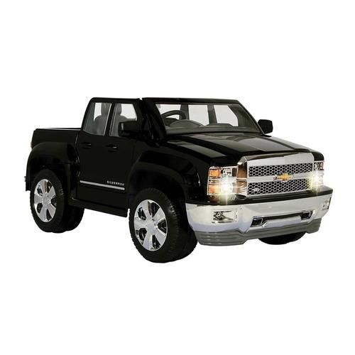 montable carro eléctrico silverado camioneta juguetes niños
