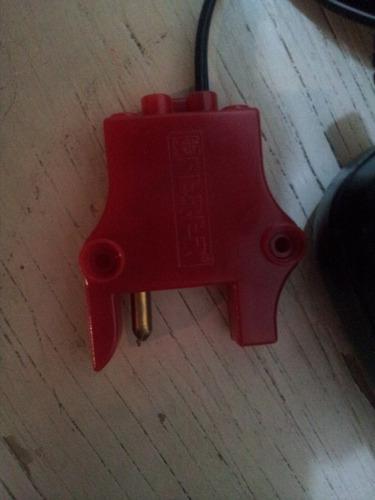 montable electrico, cargador para bateria de 12 volts feber