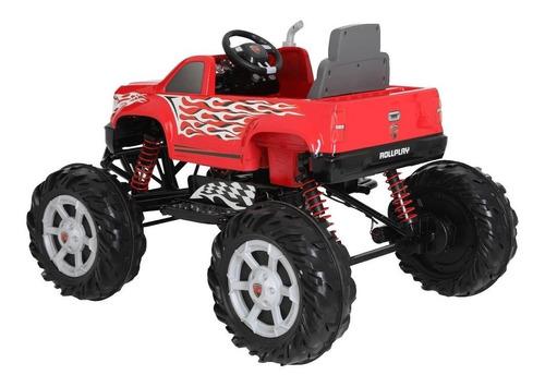 montable eléctrico monster truck 24 v