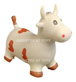 Inflable Vaca Montable Brinca Sonido Bebé Niña Niño Luz OkXTPiuZ