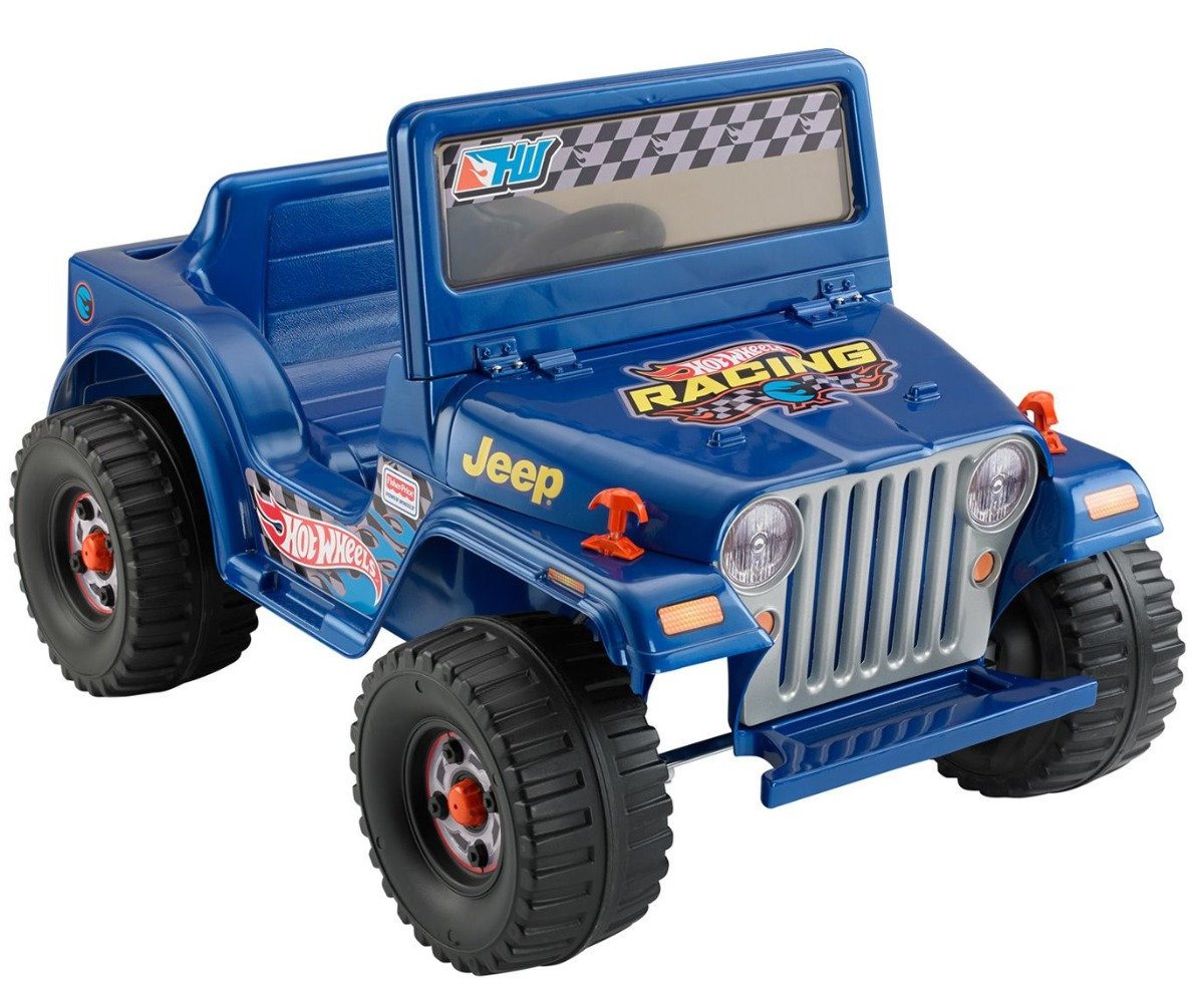 Montable Jeep Wrangler Electrico Todo Terreno Hot Wheels 2 890 00 En Mercado Libre