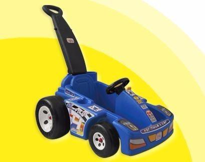 montable mini car formula 1  push car   sonido motor colores