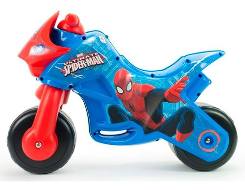 montable moto corre pasillos twin spiderman injusa