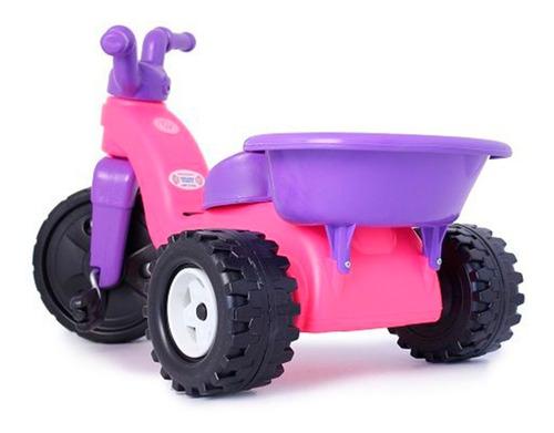 montable moto triciclo  juguete niñas