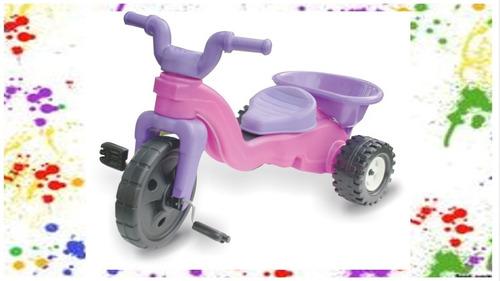 montable moto triciclo  niñas juguete  envio hoy sin costo