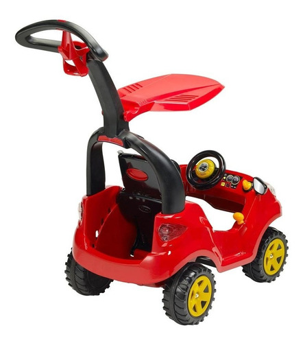 montable push car adventure rojo