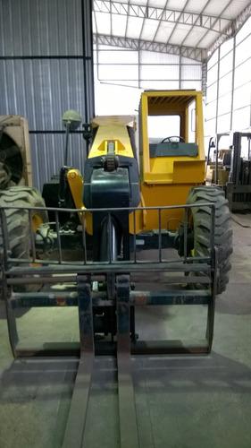 montacarga 3 ton, 37' brazo, modelo carelift 6037