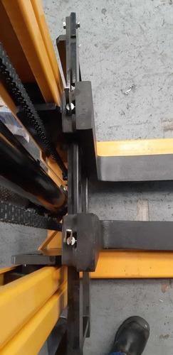 montacarga apilador manual hidraulico