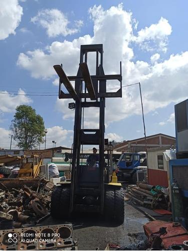montacarga hyster 10 ton