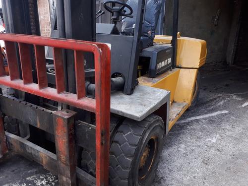 montacarga komatsu de 7 toneladas