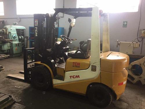 montacarga tcm 2 toneladas