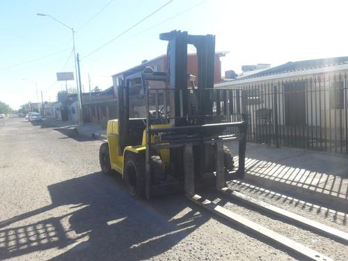 montacargas 15500 lb (7 ton) hyster gasolina 6 cil