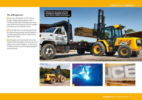montacargas 4x4 todo terreno  año 2008. 4 toneladas.diesel