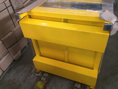 montacargas canastilla seguridad racks mantenimiento almacen