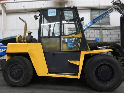 montacargas caterpillar 20000 lb diesel modelo dp90