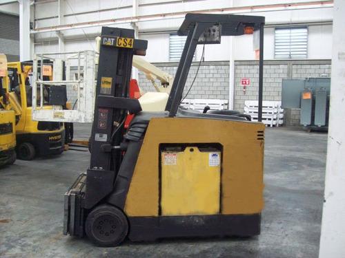 montacargas caterpillar 2004 electrico 5000 lb modelo ec25ks