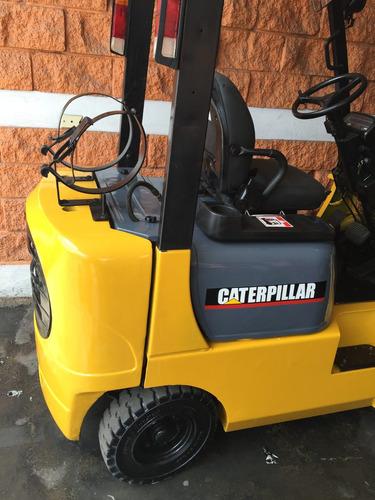 montacargas caterpillar 2005 de 3,000 lbs