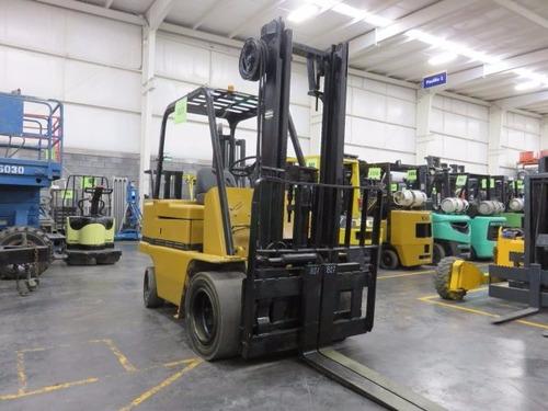 montacargas caterpillar diesel 6000 lb modelo vc60c