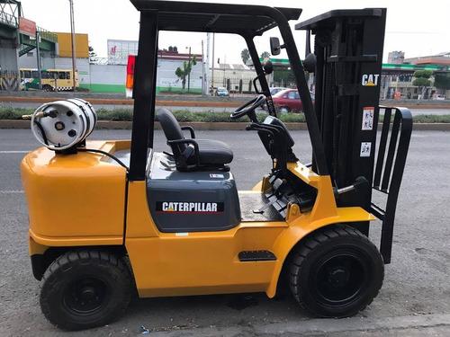 montacargas caterpillar para 6,000 lbs