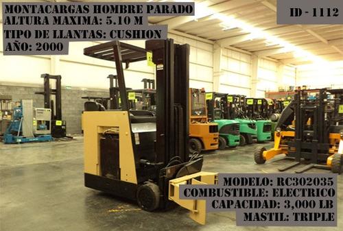 montacargas crown 2000 electrico 3000 lb modelo rc3020-35