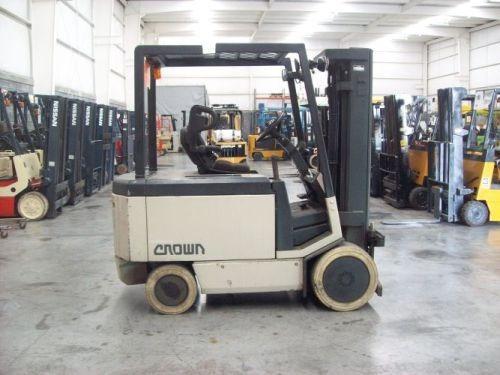 montacargas crown 6000 lb electrico modelo 60fctt-188