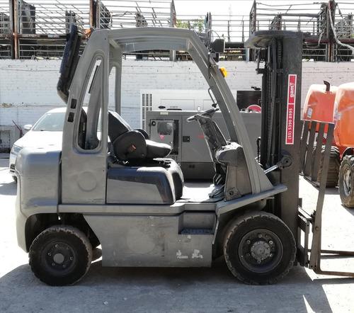 montacargas diesel 2.5 toneladas 2.500 kg
