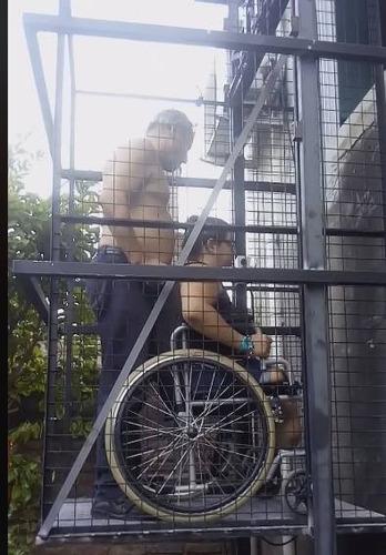 montacargas discapacitado, elevador de personas