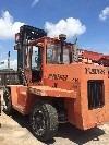 montacargas eaves 17,500 libras año 2000 diesel