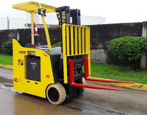 montacargas electrico 2000 kg 2012 hyster + cargador 220 v