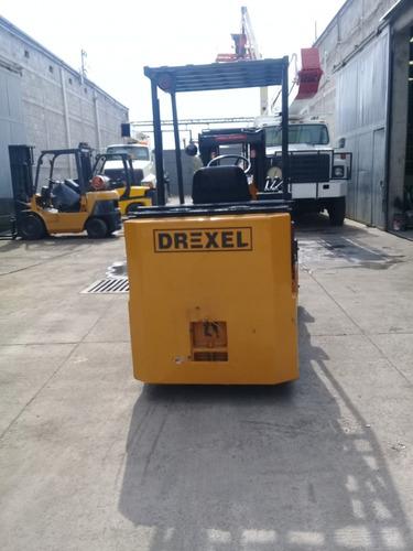 montacargas electrico drexel 8000 lbs. equipo funcionando