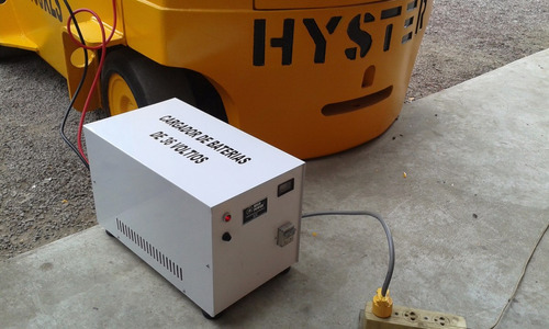 montacargas eléctrico hyster e100xls capacidad 4 toneladas