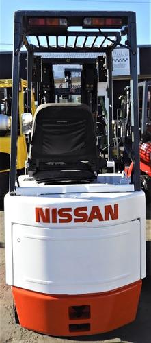 montacargas eléctrico nissan csp01l15s seminuevo