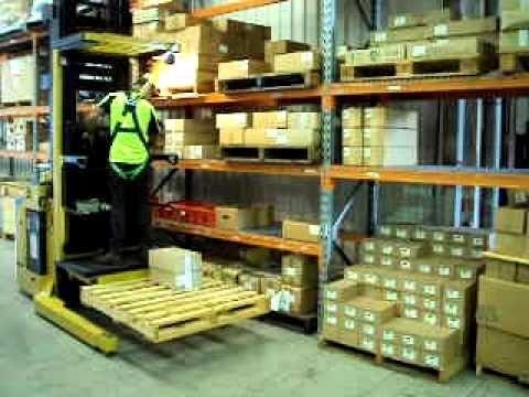 montacargas electrico refacciones orderpicker hyster 3000 lb