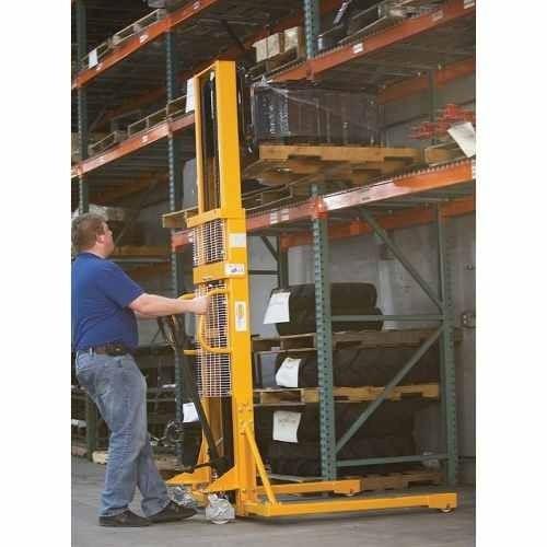 montacargas elevador manual 1 ton 2.5mts levante