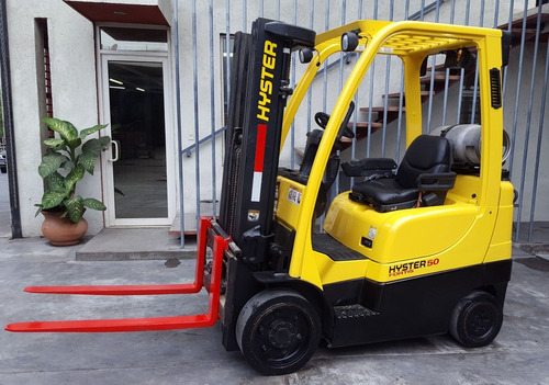 montacargas hyster 4000 libras 2013 (impecables)