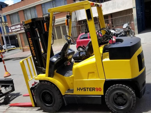 montacargas hyster 4350mm