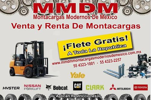 montacargas hyster 6,000 lb 2013 (toyota,yale,nissan,clark)