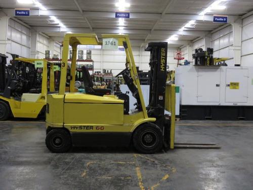 montacargas hyster 6000 lb electrico modelo j60xm34