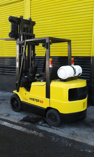 montacargas hyster 6000 lbs