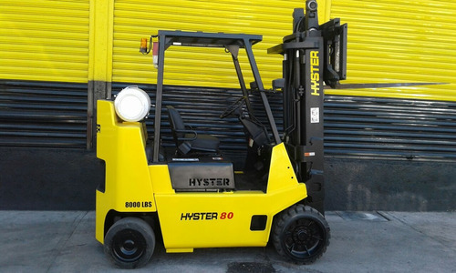 montacargas hyster 8000 lbs