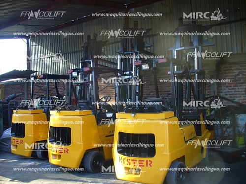 montacargas hyster 9000 lbs