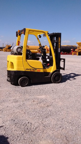 montacargas hyster combustion a gas 5000 libras