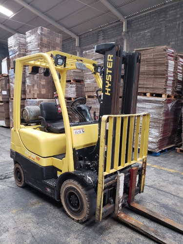 montacargas hyster h40ft año 2015