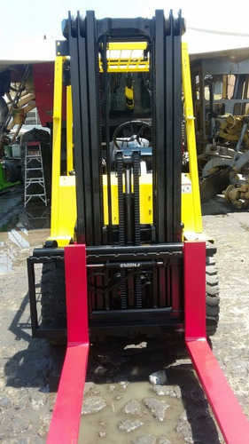 montacargas hyster h60xm toyota 4 ton. y komatsu