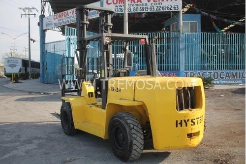 montacargas hyster hyster  h155xl2  2001