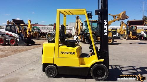 montacargas hyster s50xm de gas l.p. capacidad 4500 libras