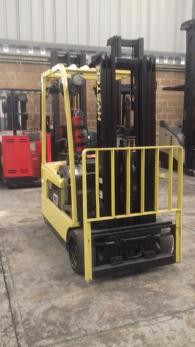 montacargas hyster tipo triciclo 4000