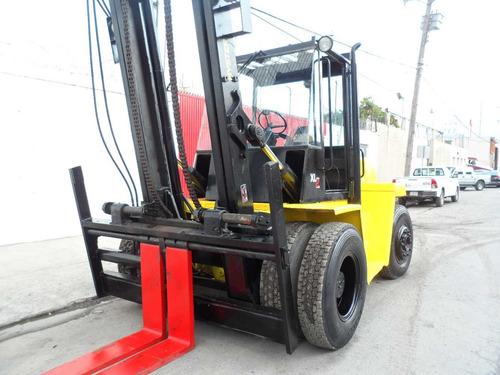 montacargas hysterxl2 19000 libras diesel  dezplazador 6 cil
